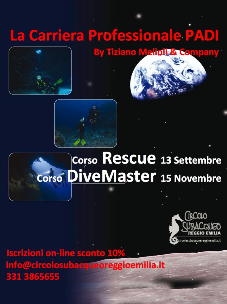 Corso Rescue e Dive Master