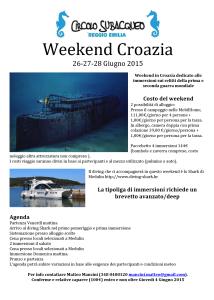 Weekend Croazia 2015